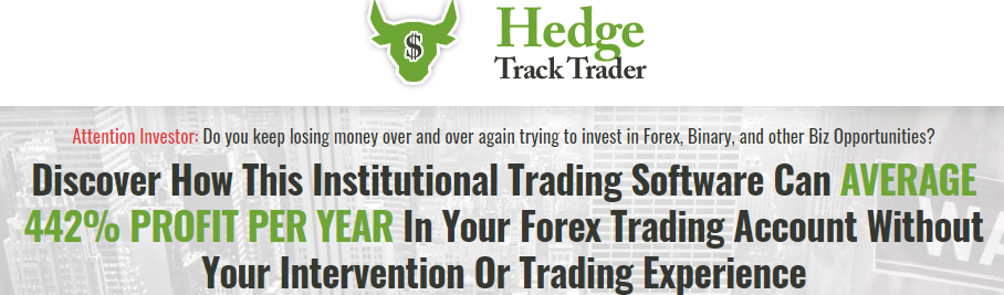 Hedge Track Trader Review: Website Introduction