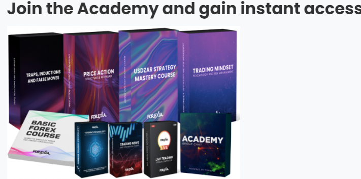 Forexia Pro Review: Courses offered