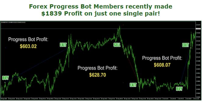 Forex Progress Bot: Trading Activities