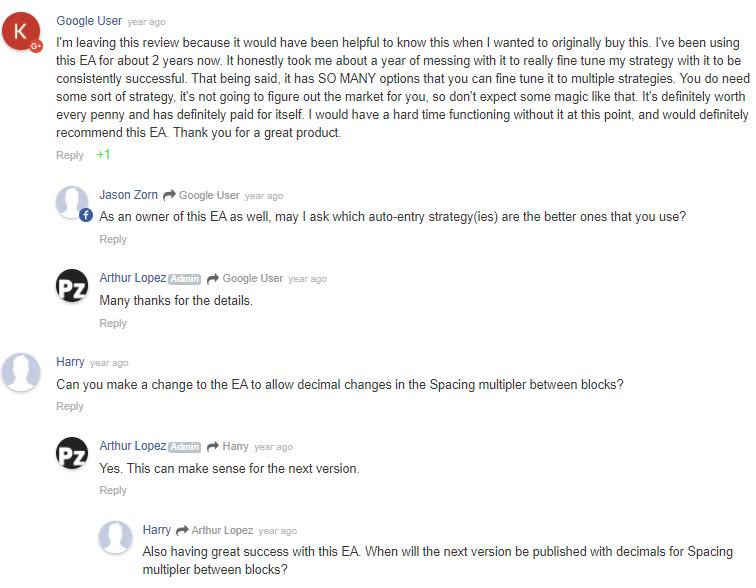 PZ Averaging EA Review: User Engagement