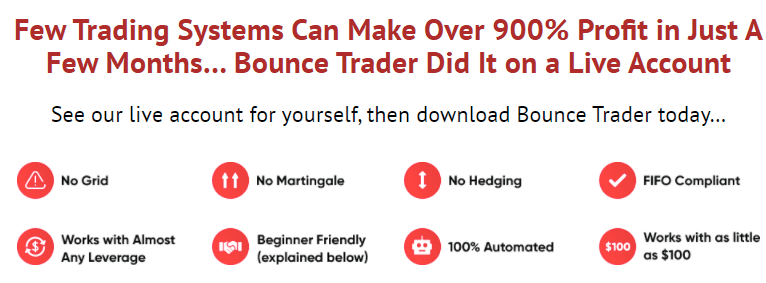 Bounce Trader EA: Website